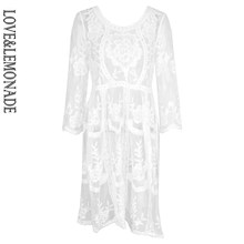 Love & limonade robe manches dentelle blanc TB 9672(China)