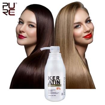11.11 PURC Brazilian 8% 300ml Keratin Treatment Straightening Hair Eliminate frizz and Make Shiny and Smooth Keratin for Hair 11 11 purc brazilian keratin 12