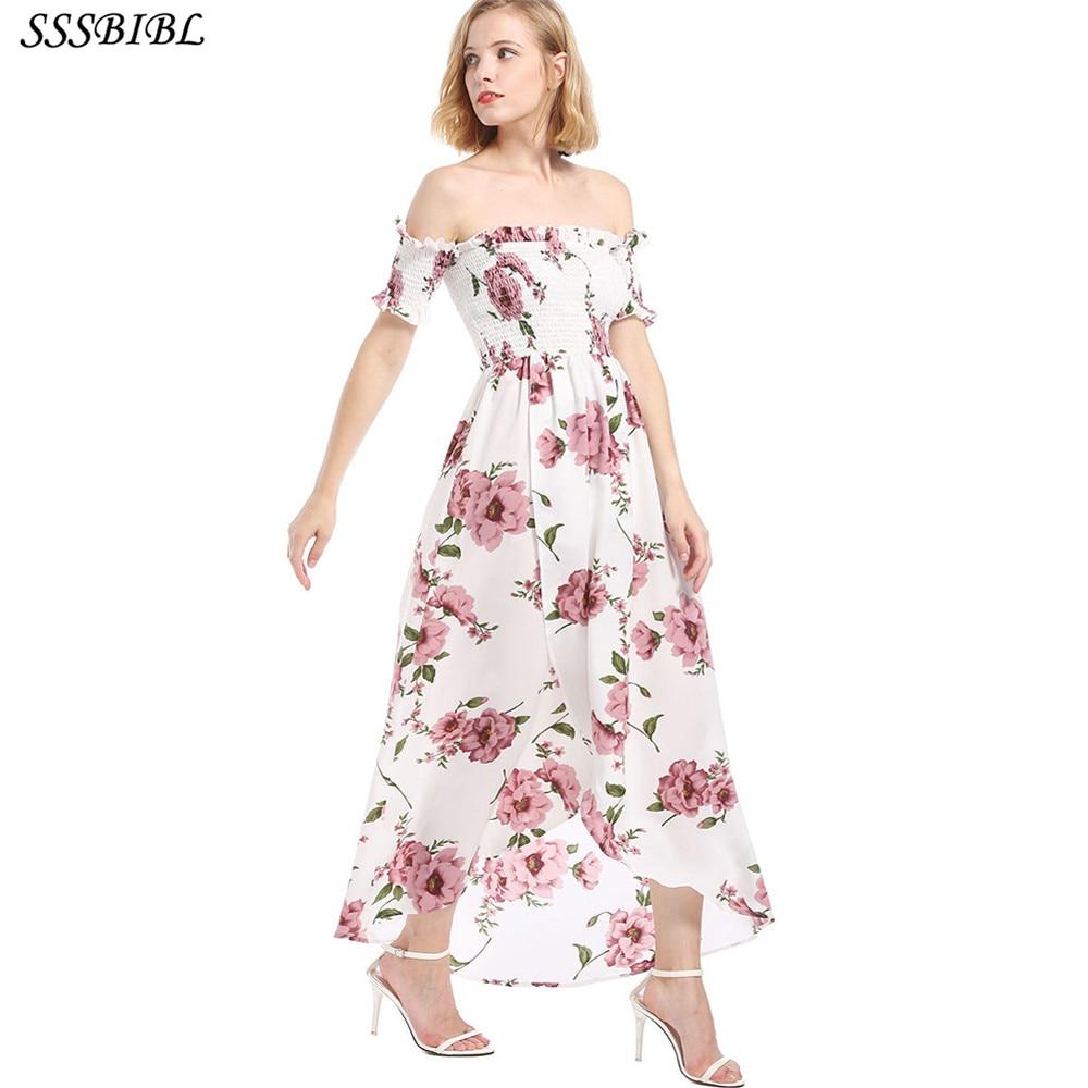 Fashion Women Sexy Backless Long Dress White Chiffon Short