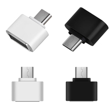 Type-C OTG Adapter USB3.1 to USB2.0 Type-A Connector for Samsung S8 Huawei Mate9 Phone 8 @88 DJA99