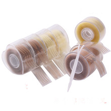 300 Pairs Self Adhesive Clear Beige Eyelid Stripe Double Fold Invisible Eyelid Tape Stickers Natural Eye Tape Makeup Eyelid Tool kinepin 1056pcs eyelid tape sticker invisible eyelid paste transparent self adhesive double eye tape tools