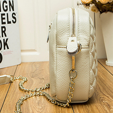 HMILY Fashion women messenger bag first layer cowhide Shoulder Crossbody Bag ladies embossing genuine leather casual small bag