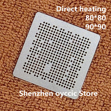 Directe verwarming 80*80 90*90 LGE2131 LGE2132 LGE2133 LGE2134 LGE2135 LGE2136 BGA Stencil Template