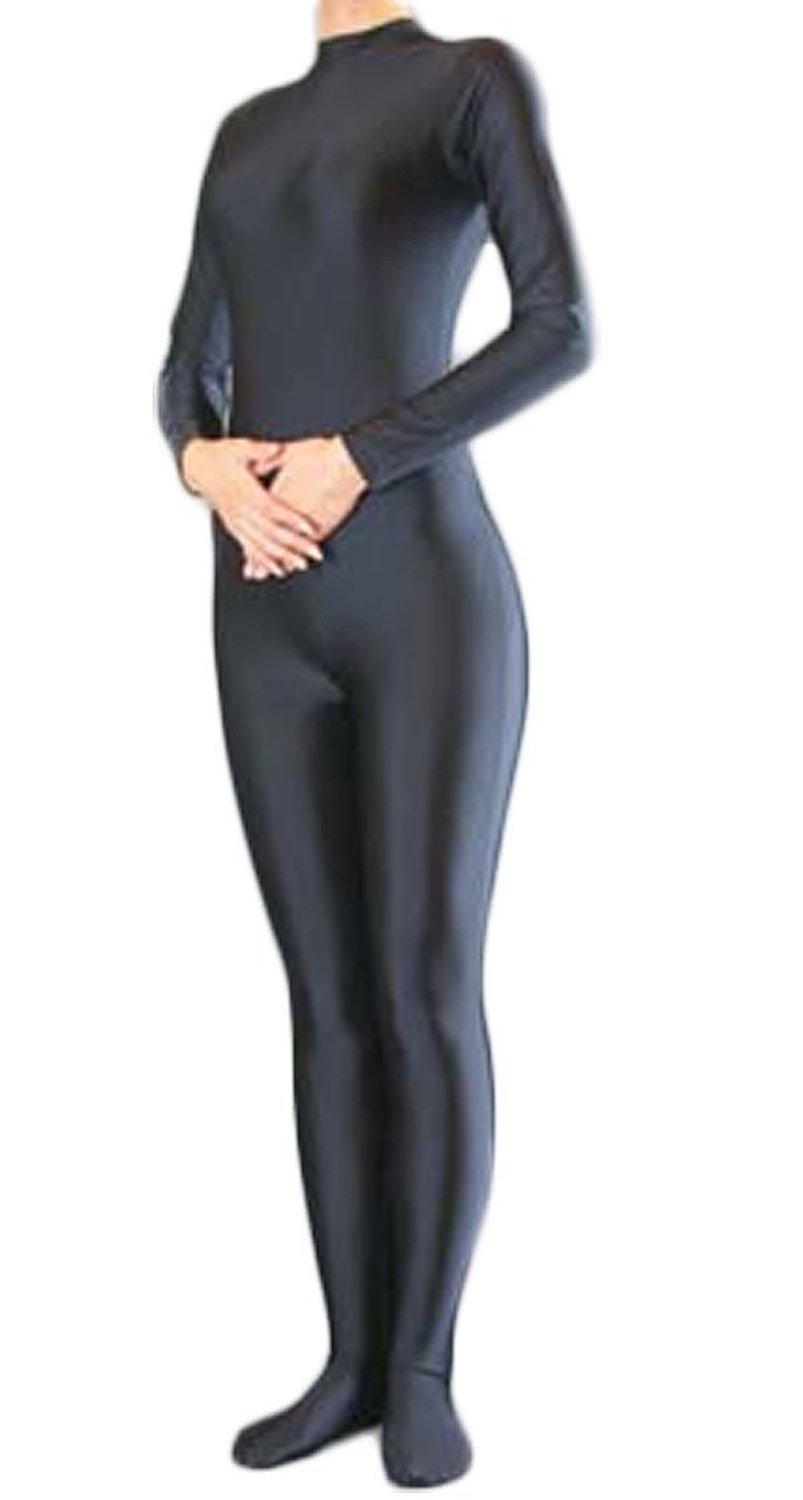 Catsuit Bodysuit S-XXL Stage Play Women Zentai Spandex Suit Headless Skin Hands