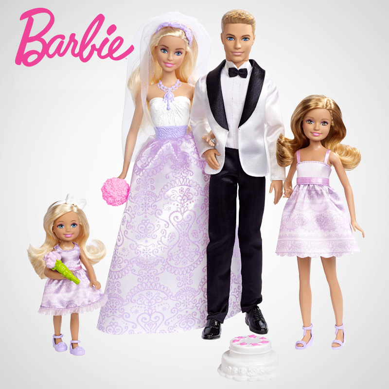 Barbie Original Brand Collection Doll Dreams Wedding Suit