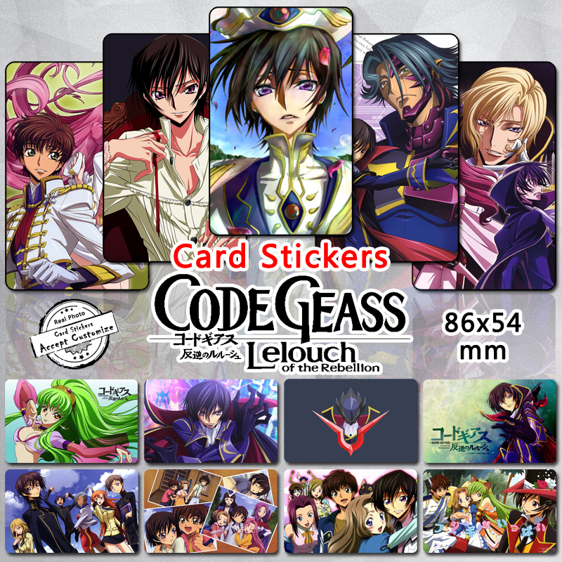 aliexpress buy 35pcs code geass card stickers