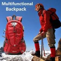 Najlepsza Oferta 40L Odkryty Molle Torba Sportowa Plecak Podróży Plecak Torba Wodoodporna Alpinizm Camping Wspinaczka Piesze Wycieczki Plecaki