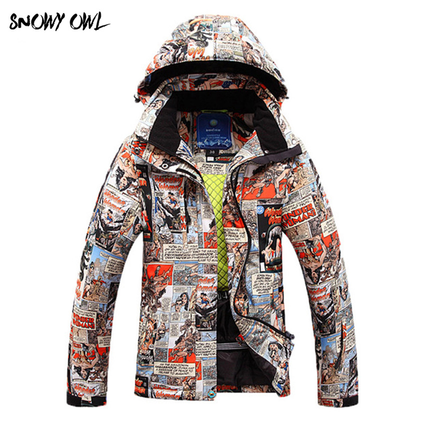 60 Free Shipping Brand Women Winter Warm Ski Jacket Women Windproof Sports Jackets High Quality skiing Keep Warm Clothing free shipping 2017 winter warm dhl brand clothing vintage jackets mens genuine pakistan cow leather biker jacket plus size