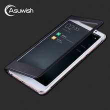 Luxury Leather Phone Flip Case For Xiaomi