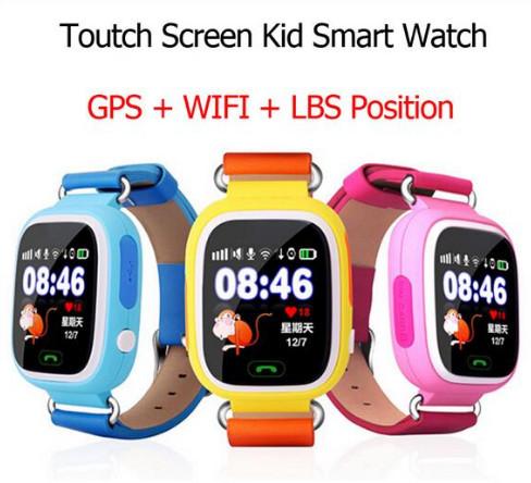 Kidizoom Crianças anti-perdido GPS De Pulso Watc Inteligente Wifi Bluetooth Rastreador De Segurança Chamada SOS