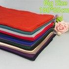 H29 180*85cm Big size Top quality plain bubble chiffon wrap shawl women scarf