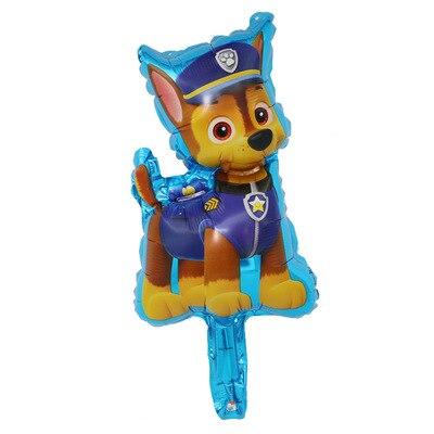 Хит, Paw Patrol, украшение на день рождения, фигурки, игрушки, Щенячий патруль, воздушные шары, вечерние, декор для комнаты, Чейз, Маршалл, баллон, детские игрушки для девочек - Цвет: Small Size 02