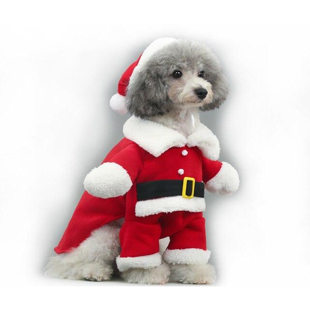 Vestiti Di Natale Per Cani.Us 8 33 Pipifren Inverno Divertente Cani Vestiti Di Natale Costume Chihuahua Gatto Cappotti Per Gli Animali Domestici Vestiti Di Halloween Yorkshire