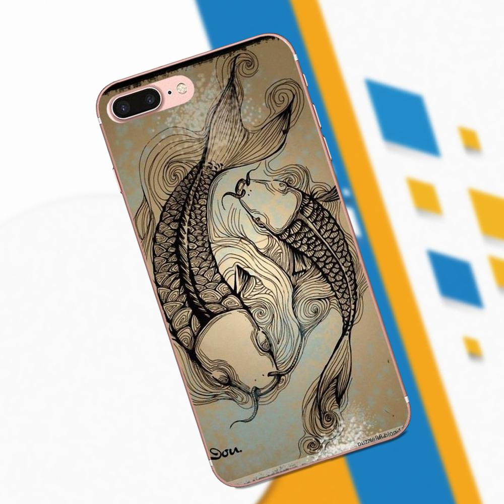Cellphones & Telecommunications Cooperative Maiyaca Koi Carp Japanese Fish Floral Phone Case Cover For Iphone 5 5s 6 6s 7 8 X Xr Xs Max Samsung Galaxy S6 S7 Edge S8 S9 Plus Fitted Cases