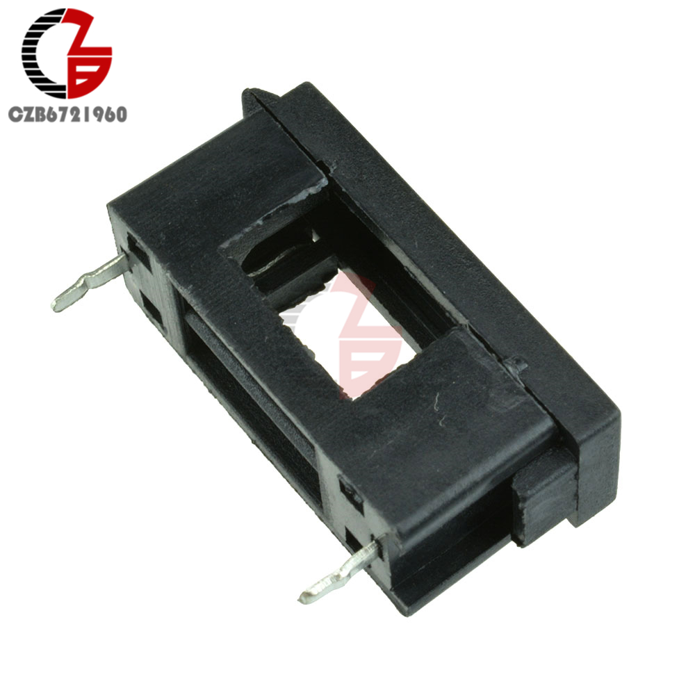 10PCS/LOT 5*20mm With Cover Fuseholders BLX-A type 15A/125V Fuse Holder
