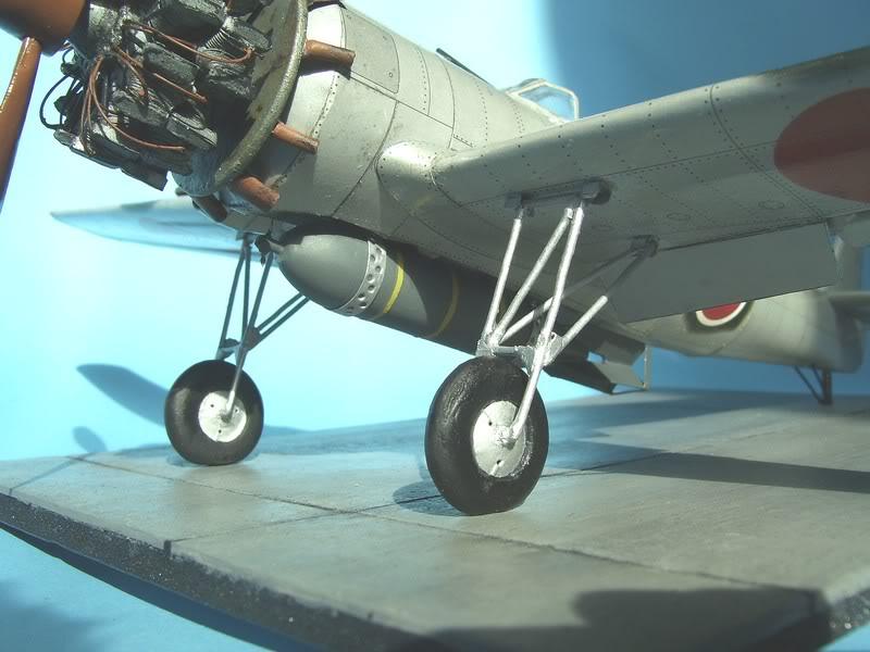 1:33 DIY Paper Model Japanese Kamikaze Plane Nakajima Ki-115 ''Tsurugi'' WW II Boy Gift Papercraft 3D Puzzle
