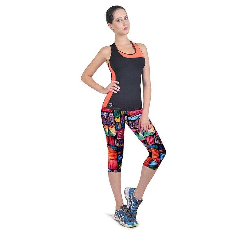 Pantacourt leggins pour femme fitness