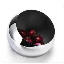 Нержавеющая сталь фруктовая чаша коническая сферическая Xieshen банка для специй Топы сладости бар чаша КТВ маленький размер 14 см
