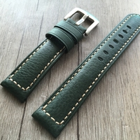 Men's green High quality strap 20 22 24 26mm Watch Band Straps For Panerai for Omega Water ghost Male Belt Bracelet Montre Cuir