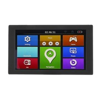 9 S900 Car Truck HD GPS Navigation 256M+8GB Reversing Camera Touchscreen FM Navigator Accurately Position Black