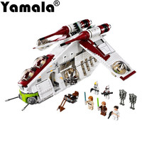 Yamala IN STOCK New Lepin 05041 Genuine Star War Series The The Republic Gunship Set