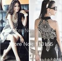 2013 Fashions Women S Latest Japanese And Korean National Wind Bohemia Retro Totem Sleeveless Dress 152
