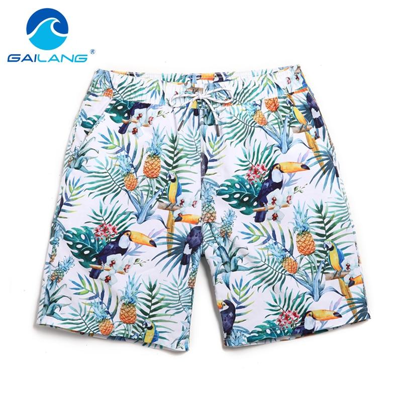 Gailang márka 2017 fürdőruha férfiak strand rövidnadrág - Férfi ruházat