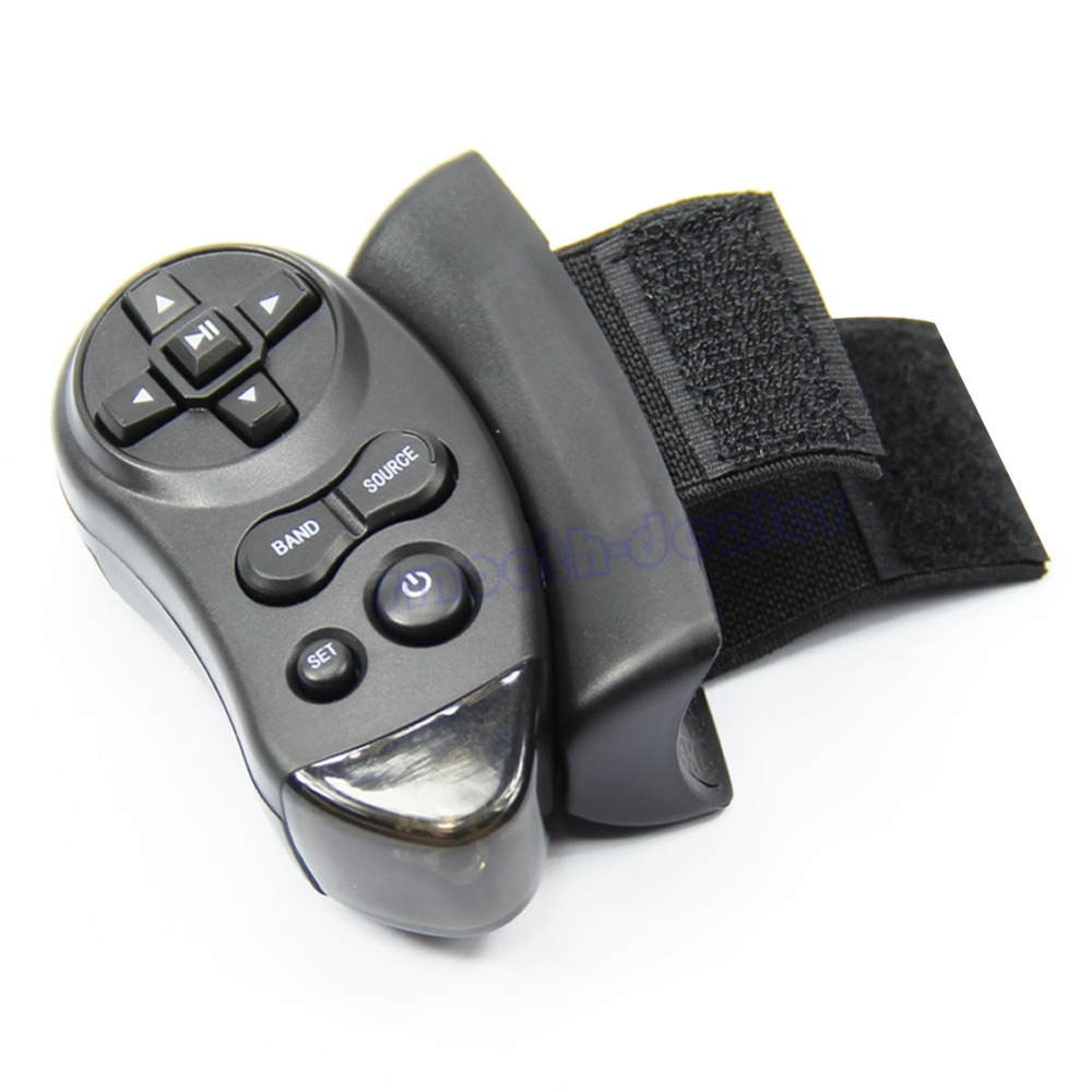 High Quality 1 Set Universal Auto Car Steering Wheel Remote Control Learning For Car CD DVD VCD New