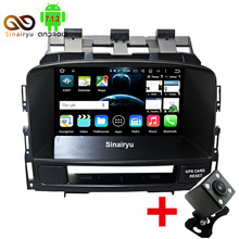 Sinairyu 64-Bit CPU 2GB RAM Android 7.1.2 Car DVD Player For Opel Astra Astra-J 2010-2013 Radio GPS Navigation Stereo Video