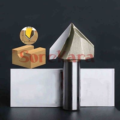 1/2*2 V Shape 3D Woodworking Milling Cutter CNC Router Bits Cutting Tools For Wood PVC Acrylic 1pc 1 2 3 4 woodworking cutter cnc engraving tools cutting the wood bits