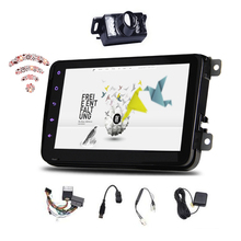 Android 4.4 Kitkat GPS Sin Reproductor de DVD Del Coche para VW/GOLF/BORA/PASSAT/CC etc Radio Car Stereo Bluetooth OBD2 Canbus + Cámara