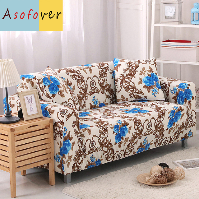 Complete Style Sofa Cover Elastic Slipcover Stretch Furniture Covers Protector For Living Room