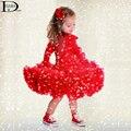 HABA девочка дети бюст юбки, дети pertty юбка балетной пачки, мода детская одежда HB1364
