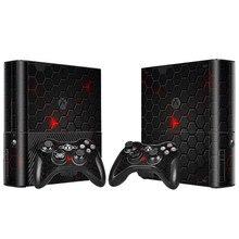 Custom Design Skin Sticker for Microsoft Xbox 360 E Consoel and 2 Controllers Decal Vinyl for Xbox 360 E Skins Sticker