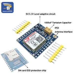 Модуль разработки SIM800C GSM GPRS 5 В/3,3 в TTL IPEX с Bluetooth и TTS для Arduino STM32 C51 Интегральные схемы      АлиЭкспресс