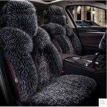 Good quality! Full set Wool car seat covers for Mercedes Benz GLE 450 2017-2015 fashion durable winter seat covers,Free shipping