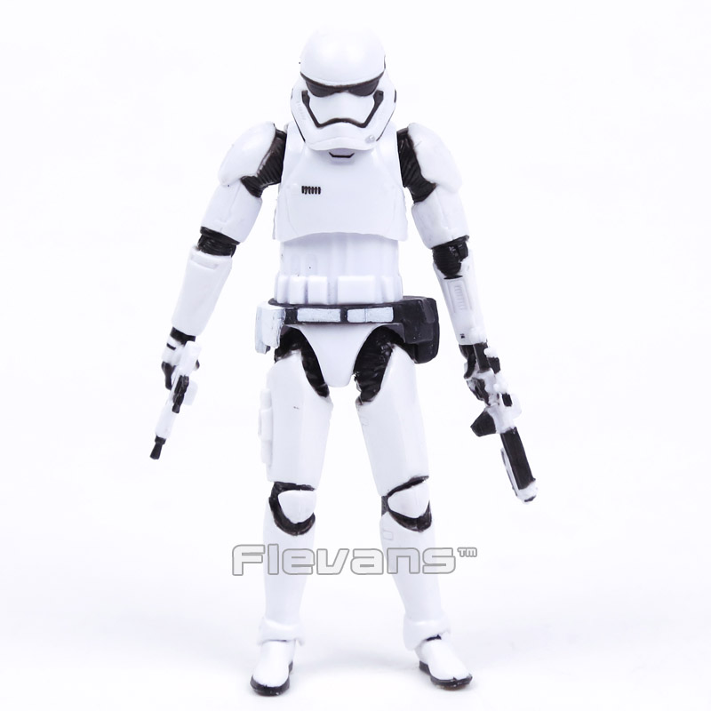 Star Wars Stormtrooper with Weapons Mini PVC Action Figure Collectible Model Toy 4 10cm shfiguarts batman injustice ver pvc action figure collectible model toy 16cm kt1840