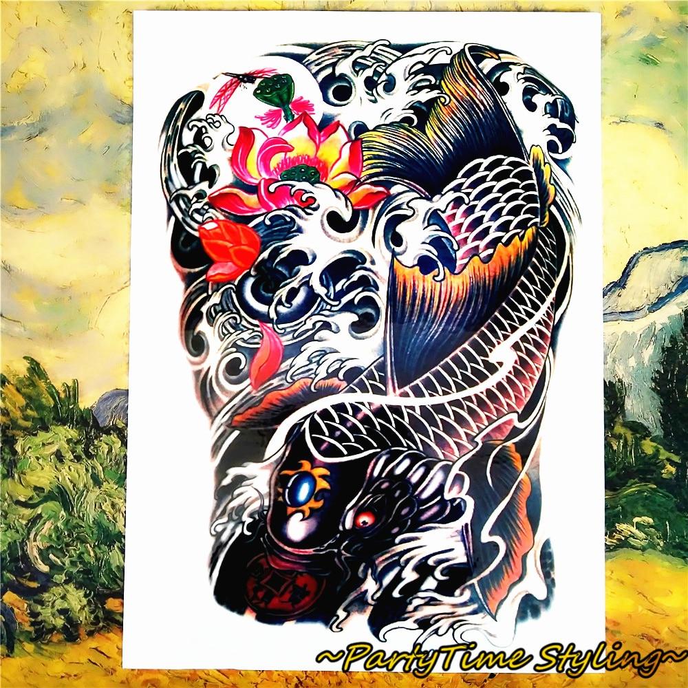 Online buy wholesale koi tattoo designs from china koi for Koi wholesale