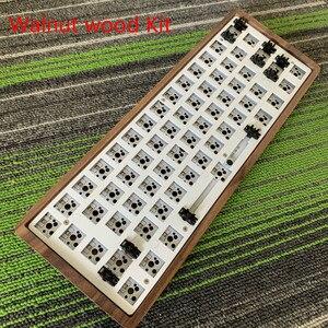 Image 5 - GK61 (ta sama marka GK64) klawiatura mechaniczna zestaw DIY Hot Swap niezależny sterownik tyce c interfejs GH60 RGB