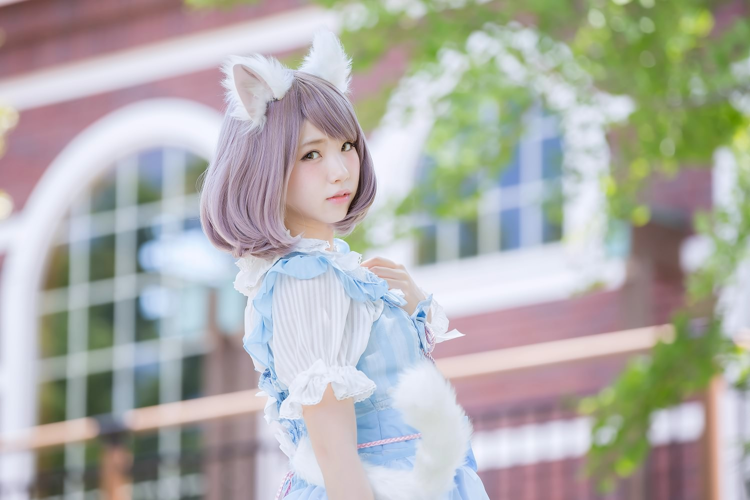 HTB1KnEFONjaK1RjSZFAq6zdLFXa1 - Cosplay coser [一只肉酱阿]狐狸尾巴 kawaii fox tail