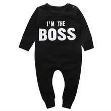 Cute Newborn Long Sleeve Baby Boy Girl Romper Jumpsuit Clothes