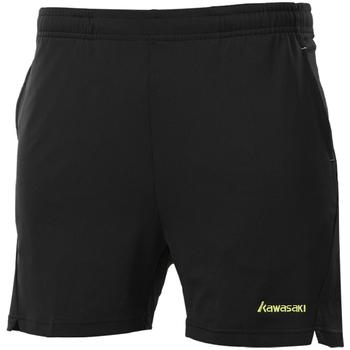 Kawasaki 2020 nowe oddychające elastyczne spodenki do badmintona dla mężczyzn i kobiet dzianiny pochłaniające pot letnie spodenki na zewnątrz SP-13391 tanie i dobre opinie spandex Poliester Stałe Szorty Tenis JERSEY Unisex Shorts Polyester