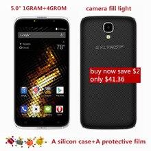 """Оригинал BYLYND M11 Смартфоны 5.0 """"MTK6580 Quad Core Мобильный Телефон Android 6.0 8.0MP HD 1280×720 Мобильные Телефоны 3 Г WCDMA"""