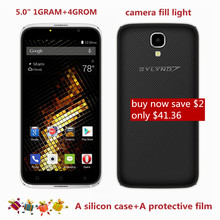 new arrive cheap celular bylynd X6 Smartphones 5.0″ MTK6580 front camera fill light 5MP 1GRAM+4GROM Android 6.0 Mobile Phones 3G