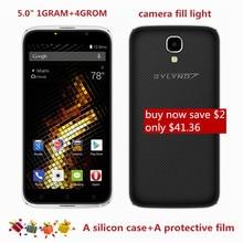 new arrive cheap celular bylynd X6 Smartphones 5.0″ MTK6580 front camera fill light 5MP 1GRAM+4GROM Android 6.0 Mobile Phones 3G