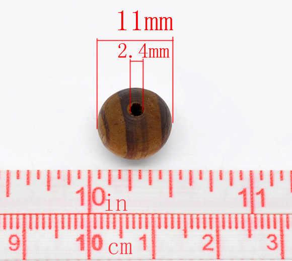 DoreenBeadsกาแฟรอบตัวเว้นวรรคลูกปัด11มิลลิเมตร,ขายต่อแพ็คเก็ต15 2015ใหม่
