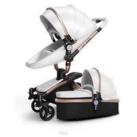 Детские коляски 3 в 1 с Автокресло Высокая Landscope складная детская коляска для ребенка от 0 до 3 лет коляски для новорожденных