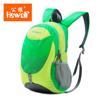 Hewolf New 18L Waterproof Nylon Travel Backpack Portable Child Outdoor Sports Camping Rucksack Ultralight Student Shoulder