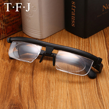 2aa9a274da Adlens Focus Adjustable Men Women Reading Glasses Myopia Eyeglasses -6D to +3D  Diopters Magnifying