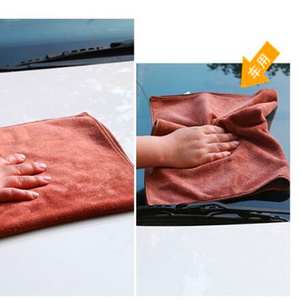 Image 5 - 30*30CM Car Sticker Wash Microfiber Towel Car Cleaning For Renault Megane 2 3 Duster Logan Clio Laguna 2 Captur Car Styling